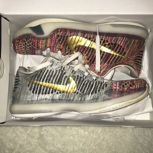 finest selection 013b7 695a6 Nike Shoes - CUSTOM NIKE KOBE X Size 10 (US)